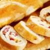 Pão de Cambuci com frios